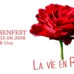 Rosenfest 2016 – 12.06.2016